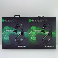 LOT OF 2 GIOTECK HCC MONO CHAT HEADSET FOR XBOX 360 (LOOK DESCRIPTION) T69