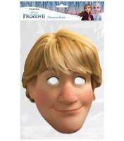 Kristoff from Frozen 2 Official Disney Single 2D Card Party Face Mask