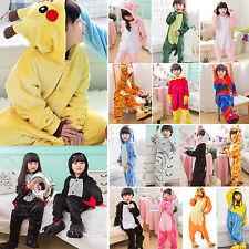 Kid Xmas Pajamas Kigurumi Unisex Cosplay Animal Costume Child Oneset Nightwear