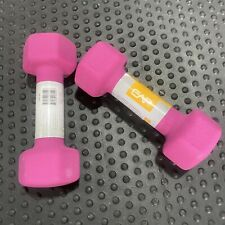 5lb CAP Purple Rubber Hex Dumbbell Weights Pair 10 Lb Total FREE SHIPPING