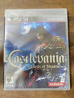 Castlevania: Lords of Shadow (Sony PlayStation 3, 2010) Brand New & Sealed!!