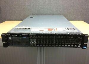 Dell R720 Server: 2x E5-2667 CPU, 128GB RAM, 2x 146GB SAS HDD, Perc H710, 2x PSU