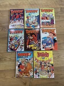 The Dandy Comic Book Annual Bundle 2000 2001 2002 2003 2004 2005 2010 2013