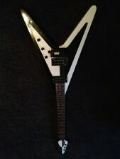 Custom FLYING V Electric Guitar includes nice case and locking straps!