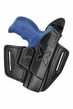 B6 100% Gürtelholster Leder Holster für Walther P22 Pistolenholster VlaMiTex