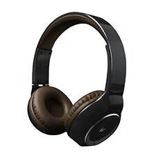 KitSound Arena Universal Bluetooth Wireless Over-ear Headphones Brown