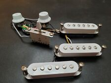 Fender Squire Stratocaster mini Complete single coil pickup set, fully wired