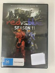 Red Vs Blue Season 11 DVD Free Post