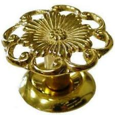 VICTORIAN CAST BRASS FURNITURE KNOB, G-8