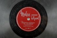 Hadda Brooks Trio - Jazz Modern Hollywood 78 RPM - Hungarian Rhapsody A21