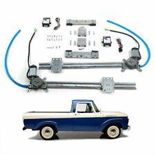 One Touch Power Window Lift Regulator Kit Fits 1961-66 Ford F-Series F1 Truck