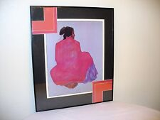 R C Gorman Hand Signed Limited Edition 212/400 Rare Framed 1973? Flawed