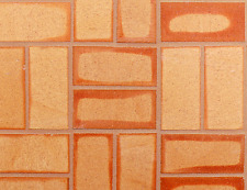 """Clay Thin Brick Veneer Corners Golden Flash Color Call For Quote """"Not Concrete!"""""""
