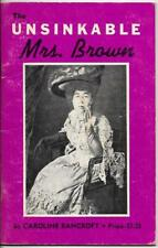 The Unsinkable Mrs. Brown by Caroline Bancroft (1971)