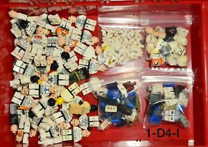 Lego Star Wars Clone Trooper Storm Trooper Minifigures Lot Damaged Cracked Used