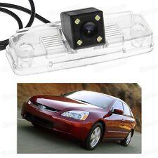 4 LED Car Rear View Camera Reverse Backup CCD for Honda Accord Sedan 2003-2007