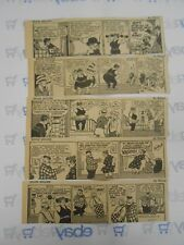 Lot of 5 Moon Mullins by Willard Daily Comic Strips July 17th-21st, 1945