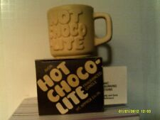 Vintage 1981 Avon Hot Choco-Lite Fragranced Candle-New In Box -Free Shipping