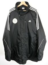 Adidas Mens Derby Black Coat /  Jacket Size XXL / XXXL Original : J115