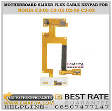 Motherboard Slider Main Flex Cable Keypad Light Pata For Nokia C2-03 C2-05 C2-06