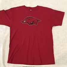 Red Oak Side XL Mens T-Shirt Red Short Sleves