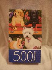Pets Garden Party 500 Piece Puzzle