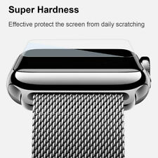 Apple Watch TPU Clear Slim Case Soft Cover + Tempered Glass for Series 3 38/42mm
