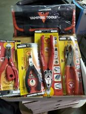 """Vampire Tools VT-001-S4A 5 Piece S4A VamPLIERS Set - 5"""", 6.25"""", 7"""", 8"""", & pouch"""
