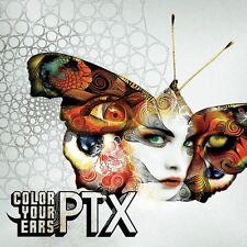 PTX color your ears GOA FULLON PSY TRANCE xerox illumination black & white
