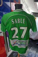Maillot jersey trikot shirt om psg asse saint Étienne vintage sable M 2003/2004