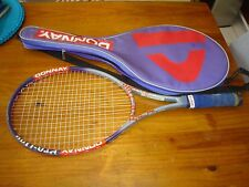 """DONNAY PRO ONE LIMITED 108 sq in TENNIS RACQUET  BELGIUM 4 5/8"""" GRIP"""