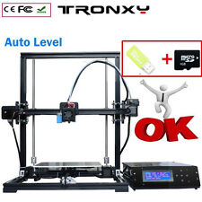 Big Size Printing Auto Level 3D Printer DIY Kits Aluminium Frame Tronxy X3A BEST