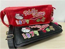 Borsa pelle grande nera o rossa Hello Kitty Dim: 40x22cm