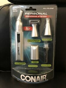 Conair Personal Grooming Kit With Nose And Eat Trimmer Ne163ncs New