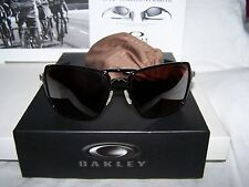 NEW OAKLEY INMATE BLACK FRAME W/POLARIZED VR28 BLACK IRIDIUM