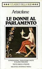 Aristofane --- Le donne al parlamento