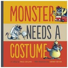 Monster Needs a Costume (Monster & Me)-ExLibrary