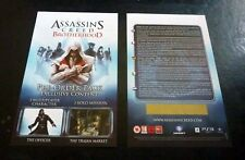 Assassin's Creed Brotherhood DLC Preorder Code (PS3)