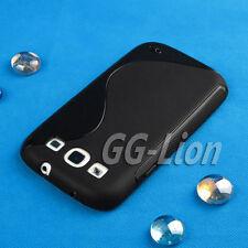 Black TPU Case Skin Cover for Samsung Galaxy S III, S3, i9300