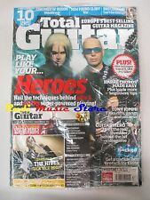 TOTAL GUITAR Magazine Giu. 2008 SEALED +cd  Heroes Children Of Bodom Bad Company