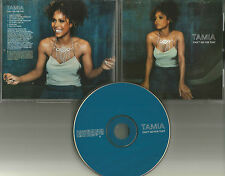TAMIA Can't go For that 2 RARE JONATHAN PETERS MIXES & AUDIO BIO PROMO CD single