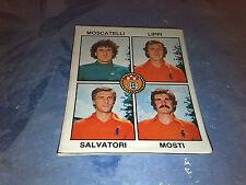 MOSCATELLI-LIPPI-SALVATORI-MOSTI PISTOIESE Calciatori Panini 1979/80 n°157 Rec