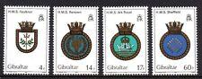 Gibraltar - 1983 Ship coats of arms Mi. 465-68 MNH