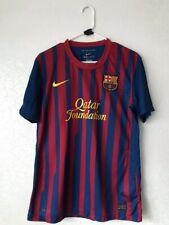 Barcelona Fc Barca 2011 2012 Home Spain Nike Football Shirt Jersey Soccer Size M
