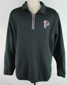 Atlanta Falcons NFL Men's G-III 1/4 Zip Small Logo Track Jacket