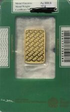 More details for pure gold bar coin bullion royal mint genuine 10gm