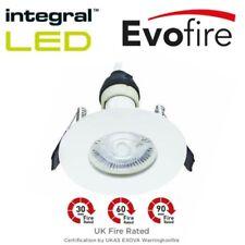 Integral LED EvoFire Rated IP65 Downlight Recessed + GU10 Bulbs Spotlight