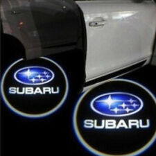 2pcs Wireless Car LED Door Projector Logo Ghost Shadow Light Fit For Subaru