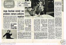 Coupure de Presse Clipping 1973 (2 pages) Ange Bastiani