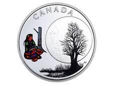3$ DOLLARO 13 Teachings Grandmother Moon - SUGAR MOON CANADA 2018 PP Argento
